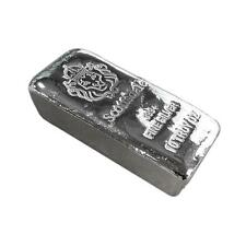 "10 oz Silver Bar by Scottsdale Mint Loaf Poured ""Chunky"" .999 Fine Silver #A396"