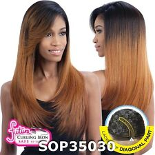 Equal Synthetic Invisible Lace Front L Part Wig SUNNY BLOSSOM