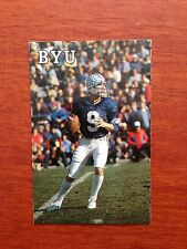 CFB 1981 BRIGHAM YOUNG BYU Football Schedule JIM McMAHON Chicago Bears College
