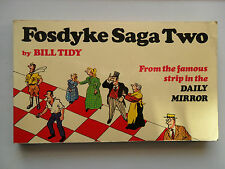 FOSDYKE SAGA SERIES TWO 1973 DAILY MIRROR 2 BILL TIDY CARTOON BOOK ACCRINGTON ST