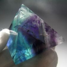 Rainbow Fluorite Crystal Pyramid Carving-flpc4450