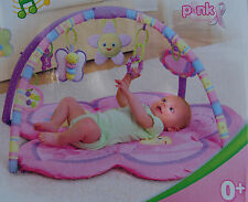 Baby Play Mat - Baby Mat - Gym - Pink Girl