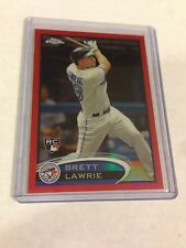 2012 TOPPS CHROME RED REFRACTOR BRETT LAWRIE REF RC /25