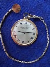 Herrentaschenuhr mit Uhrenkette Roamer Watch Co.