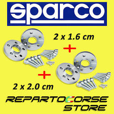 SPARCO WHEEL SPACERS KIT - (2 x 16mm + 2 x 20mm) - WITH STUDS - FORD FIESTA V ST