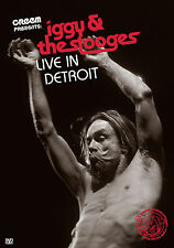 IGGY POP & THE STOOGES New Sealed 2017 LIVE 2003 DETROIT HOMECOMING CONCERT DVD