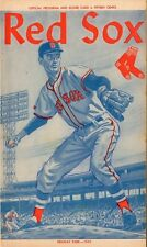 Ted Williams Last Game Last At Bat Last HR 1960 Boston Red Sox Program Fenway Pa
