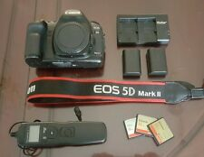 Canon 5d Mark II DSLR Camera Body + EXTRAS