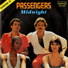 PASSENGERS midnight / as long as the river 45RPM Sanremo '81