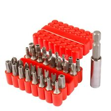 33PC SECURITY BIT SET TAMPER PROOF Magnetic Torx HEX Key STAR WING SCREWDRIVER