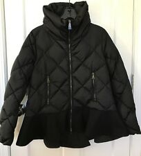 NWT Authentic Moncler Vouglette Black Jacket Size 2 $1230