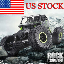 ROCK CRAWLER 2.4GHz RADIO REMOTE CONTROL TRUCK CAR 4WD RC 1/18 MONSTER TRUCK US
