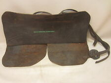 Antique Leather Chaps Apron Blacksmith Sawmill Welding Farrier Protective Gear