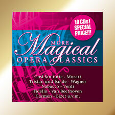 CD More Magical Opera Classics   10CDs  with Cosi Fan Tutti, Tristan und Isolde
