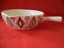 Mediados de siglo Egersund Noruega Nordic Folk patrón Pan