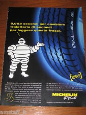 *AO16=MICHELIN PNEUMATICI=PUBBLICITA'=ADVERTISING=WERBUNG=COUPURE=