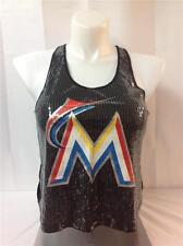 VICTORIA'S SECRET LOVE PINK BLING MARLINS RACERBACK TANK NEW EXTRA SMALL
