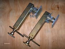 IFOR WILLIAMS TYPE JACK LEG PROP STAND STABILISER PAIR HEAVY DUTY FOR TRAILERS