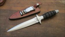 Vintage Vietnam-Era PX-sold Commando Fighting Knife w/Sheath -  RAZOR SHARP