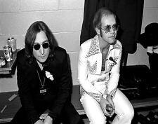 John Lennon & Elton John Print 11 X 14     #5098