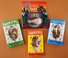 Hotlix Crickets & Chocolate Covered Insects Bugs Ultimate Gift Pack Four Packs