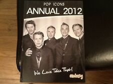 POP ICONS ANNUAL 2012: WE LOVE TAKE THAT GARY BARLOW . MARK OWEN Hardback NEW