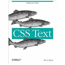 CSS Text by Eric A. Meyer (2013, Paperback)