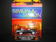 Hot Wheels Chevrolet Bel Air 1957 Convertible Simon and Simon 1/64