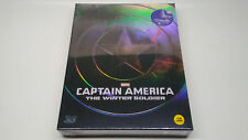 Captain America The Winter Soldier 2D/3D Kimchidvd A1 Full Slip Steelbook OOS