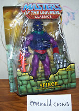 Masters of the Universe Classics Spikor MOSC - new MOTUC unopened