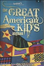 The Great American KIDS Afghan Instruction Pattern Book XRX Knitter's Magazine