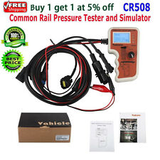 KAWISH CR508 Diesel Common Rail Pressure Tester and Simulator Tool Free Shipping