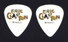 Eric Clapton Behind The Sun Album Promotional White Guitar Pick