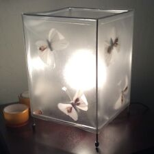 Lamp Bed Table Night Light Butterflies Design Collectible 40W
