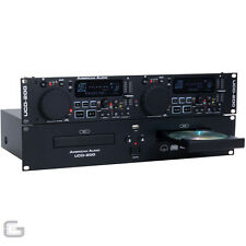 "American Audio UCD200 MKII Dual Rackmount CD USB MP3 Player 19"" 2U Rack Unit"