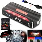 80000mAh 4 USB Car Jump Starter Emergency Charger Booster Power Bank Battery CA