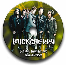 BUCKCHERRY ROCK GUITAR TABS TABLATURE SONG BOOK TUITION SOFTWARE CD