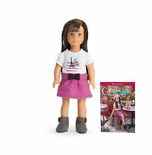 New American Girl Grace Mini Doll With Her Book  Retired GOTY for 2015 Beautiful