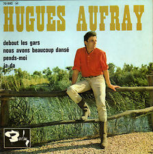 HUGUES AUFRAY ET SON SKIFFLE GROUP DEBOUT LES GARS FRENCH ORIG EP