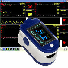 24 hour Sleep Study 2-parameter Spo2 Patient Monitor Pulse Oximeter Software uk