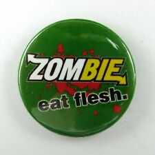 Subway Zombie Eat Flesh - Button Badge - 25mm 1 inch
