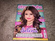 SELENA GOMEZ HAND SIGNED AUTOGRAPH FOREIGN MAGAZINE COVER AUTOGRAPHED RARE