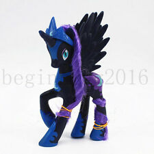 My Little Pony Friendship is Magic Luna NIGHEMARE Moon&Crown Figure Toy Kid Gift