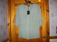 ***LOOK*** NEW GREY DETAILED TOP SIZE 22***