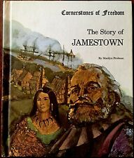 The Story of JAMESTOWN By Prolman(Cornerstones of Freedom) ~ Vintage Children's