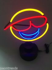 SMILEY Neonleuchte Neon sign  Leuchtreklame Neonreklame light Neonschild