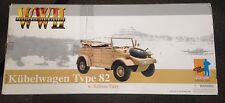 "Dragon 1/6 Scale 12"" WWII German Kubelwagen Type 82 w/Balloon Tires  71203"