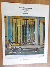 1964 Mercury Park Lane Ad  With Breezeway Design