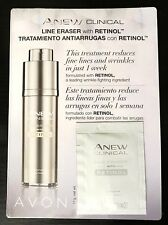 Avon Anew Clinical Line Eraser with Retinol Samples (5) NEW -  FREE SHIPPING!