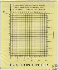 Stamp Position Finder - Essential Tool! - Thirkell only MUCH cheaper!